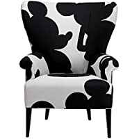 Ethan Allen | Disney Bravo Chair, Quick Ship, Mr Mouse Mickeys Ears Black