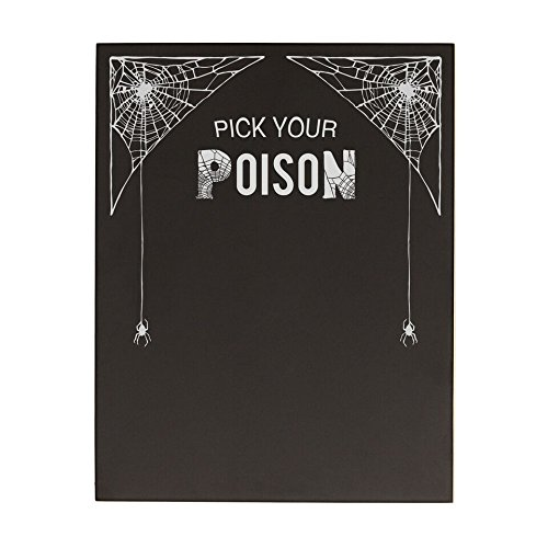 Concepts Table Decoration Cathys (Cathy's Concepts  Pick Your Poison Decorative Chalkboard)