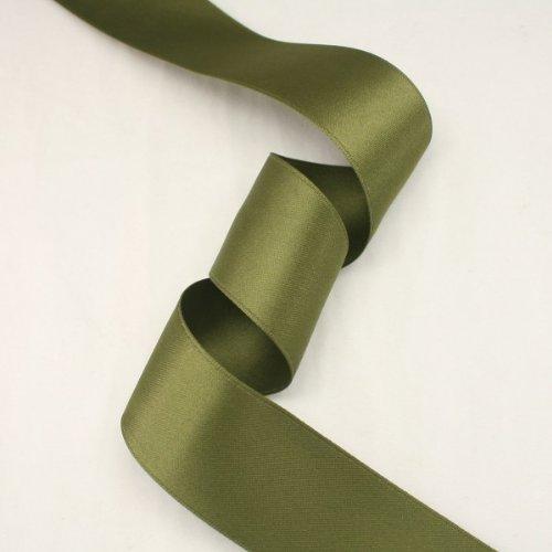 - Moss green satin ribbon - 5 yards of 50mm (2.0