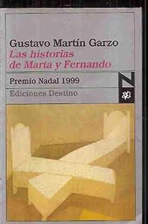 Las historias de Marta y Fernando par Martín Garzo