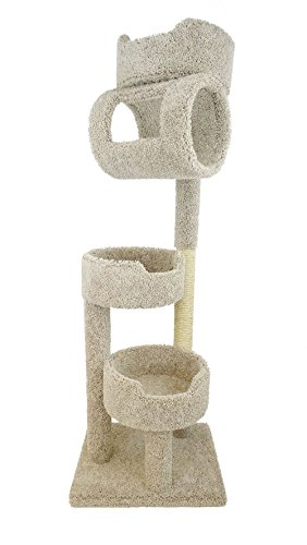New Cat Condos Premier Twin Towers, Beige