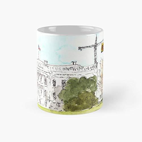 Resist Trump Global Warming Watercolor 11 Oz Coffee Mugs