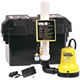 Basement Watchdog BWE 1000 Gallons Per Hour Basement Watchdog Emergency Back-Up Sump Pump