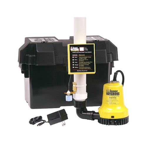 Basement Watchdog BWE 1000 Gallons Per Hour Basement Watchdog Emergency Back-Up Sump Pump (Battery Sump Pump Backup compare prices)