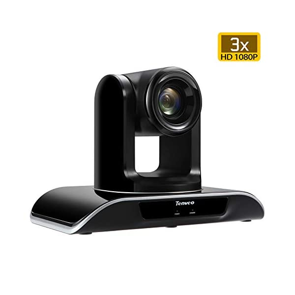 Tenveo Conference Room Camera 3X Optical Zoom Full HD 1080p USB PTZ Video Conference Camera for Business