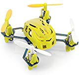 Tenergy Hubsan Q4 H111 Nano Mini 4-Channel RC Quadcopter with 2.4Ghz Radio System - Yellow
