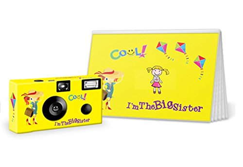 I'm the Big Brother / Big Sister Disposable Camera and Photo Book Gift Set (I'm the Big Sister)