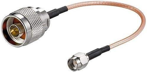 CABLEPELADO Cable Antena Router SMA Hembra a N Macho, 15 cm ...