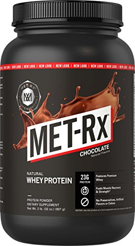 MET-Rx 100% Natural Whey Chocolate - 2 lbs