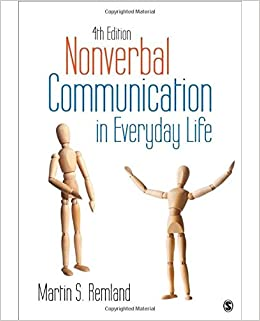 amazon nonverbal communication in everyday life remland words