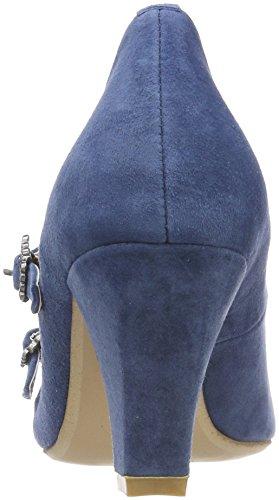 Delle Blu 3004511 Donne 274 Punta jeans Tacco Hirschkogel Chiusa TTSrqHx