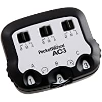 PocketWizard AC3 ZoneController for Canon - Black