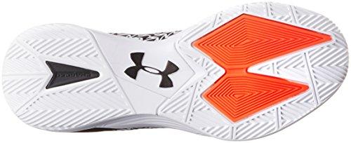 3 Drive Basketball Under Shoes White Armour Men's Clutchfit Black Ua srCxdQth