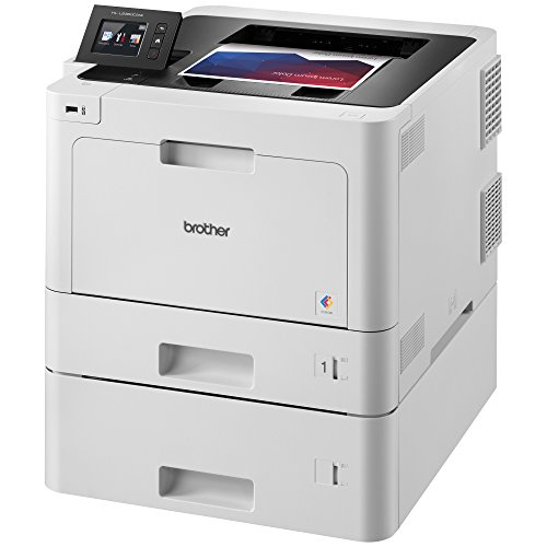 Brother Printer HLL8360CDWT Business Color Laser Printer with Duplex Printing, Wireless Networking and Dual Trays,  Amazon Dash Replenishment Enabled by Brother (Image #1)