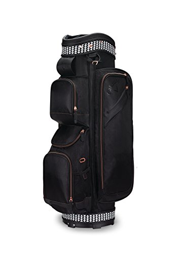 Callaway Golf Uptown Cart Bag Golf Bag Cart 2017 Uptown black/Rose Gold, (Callaway Tote)