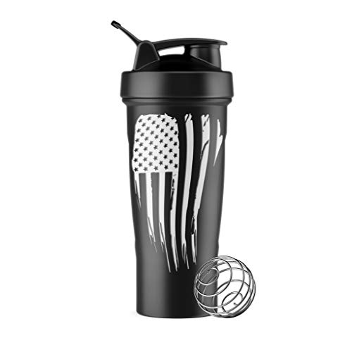 - Tactical Pro Supply BPA Free Water Bottle (White Flag)