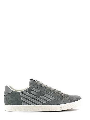 Scarpe uomo EA7 EMPORIO ARMANI, sneaker grigio art. 278038 CC299 (42, Grigio)