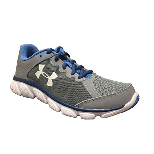 Under Armour Ua W Micro G Assert 6 - Zapatillas de running Mujer Steel/White/HERON