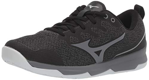 - Mizuno Women's TC-02 Cross Training Shoe, Cross Training Sneakers for all forms of Exercise, Black-Grey, 7.5 B US