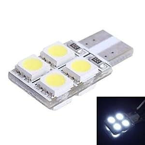 T10 1.2W 110LM 8x5050 SMD LED amarillo para la luz del manejo del coche (DC12V, 1pcs)
