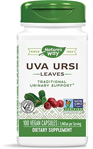 Nature's Way Uva Ursi, 480mg, 100 Capsule