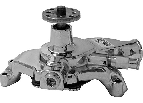 Tuff Stuff 1354NA Chrome Short Water Pump for Small Block Chevy by Tuff Stuff