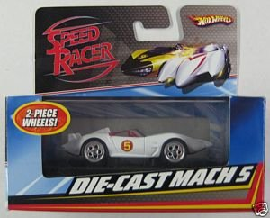 SPEED RACER COLLECTOR DIE-CAST MACH 5 IN DISPLAY BOX