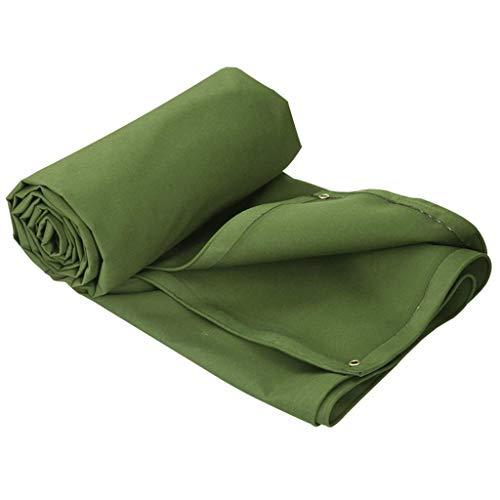 ブルーシート 雨用防水シートグリーン防水布プラスチックシェード日焼け止め布増粘 トラック荷台シート (Size : 8×6m)