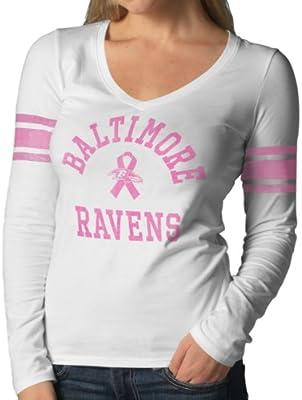 official photos d6383 3def0 NFL Baltimore Ravens Women's Breast Cancer Awareness Homerun ...