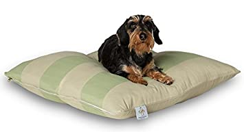 Darling Little Place Cama para Perros, 80 x 80 cm, Grass Stripes