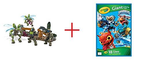 Mega Bloks Halo ODST Troop Pack AND Skylanders Giant Coloring Page - Bundle