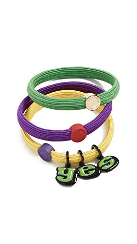 - Marc Jacobs Women's The Yes Hair Elastics, Multi, One Size