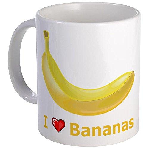 - CafePress I Love Banana Mug Unique Coffee Mug, Coffee Cup