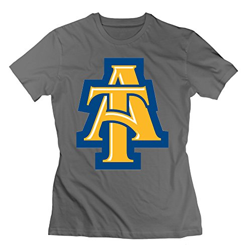 Women's T-shirts Customize NC North Carolina A&T Aggies M DeepHeather (Wentworth Merchandise compare prices)