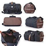 Fashion Essentials -Stylish 42 litre Lightweight and showerproof Luggage holdall Bags