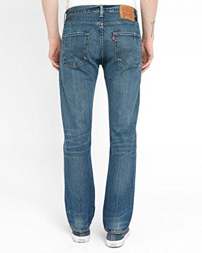 Jeans 501 Levi's Scuro Uomo Arancione 6TFySqYw