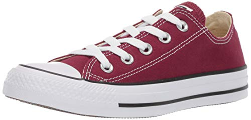 Seasonal maroon All Unisex Converse Star Rot Ox Chuck Sneakers Taylor erwachsene vxqHI