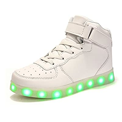 colorful LED light shoes Flashing Fashion Sneakers for Kids Boots,little kid,big kid,boys,girl