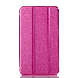 GJY Glitter Powder Pattern PU Leather Full Body Case for Samsung Tab4 7.0 T230(Assorted Colors) , Rose
