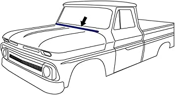 Weatherstrip Door Seal Pair Set for 60-66 Chevy GMC Truck Suburban New