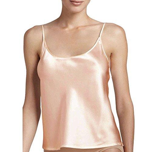 Pure Silk Jasmine Silk Camisole Nuisette Top Vest Nude