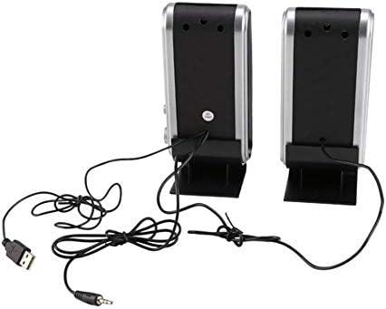 PETUNIA Altavoces estéreo Multimedia para computadora HY-218 Caja ...