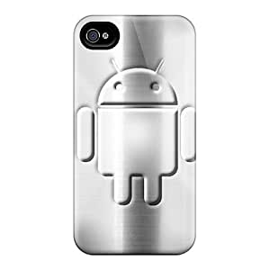 FkLk3886 Tpu Phone Case With Fashionable Look For Iphone 4/4s - Android