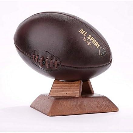 ALL SPORT VINTAGE De balón de Rugby – Chocolate, zócalo Cuadrado ...