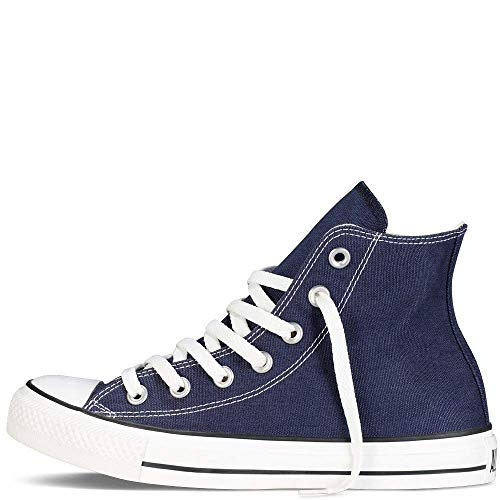Converse Mens Chuck Taylor All Star High Top, 9 D(M) US, Navy_men Size -
