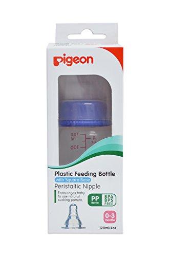 Pigeon-PERISTALTIC-NURSING-BOTTLE-KPP-120ML-BLUE-NIPPLE-S