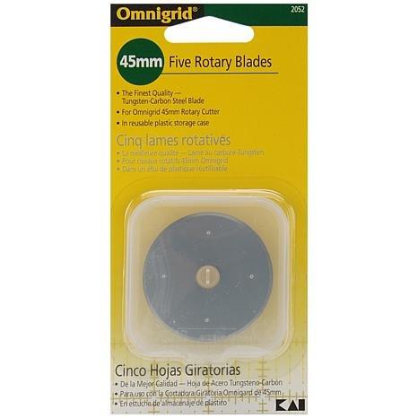 Dritz 2052 Omnigrid Rotary Blade Refills-45mm 5/Pkg by Omnigrid