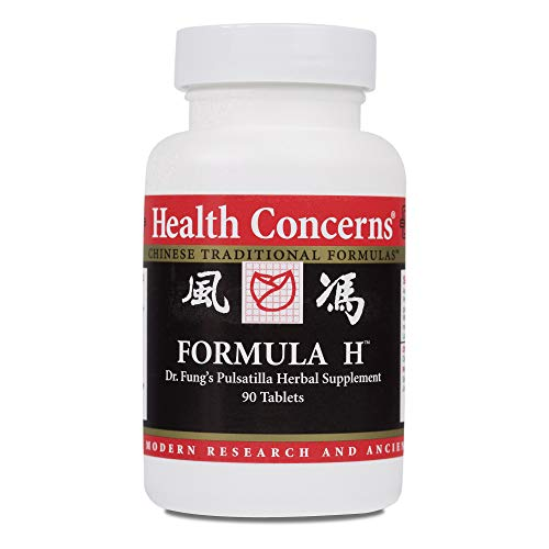 Health Concerns - Formula H - Dr. Fung's Pulsatilla Herbal Supplement - Modified Bai Tou Weng Tang - 90 Tablets ()