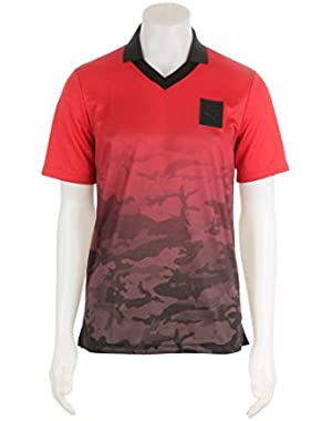 571821-05 MEN TRAPSTAR FOOTBALL TEE PUMA RED