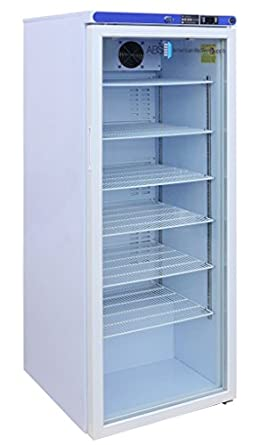 Etonnant American BioTech Supply ABT HC 10PG Premier Laboratory Compact Refrigerator,  Glass Door,